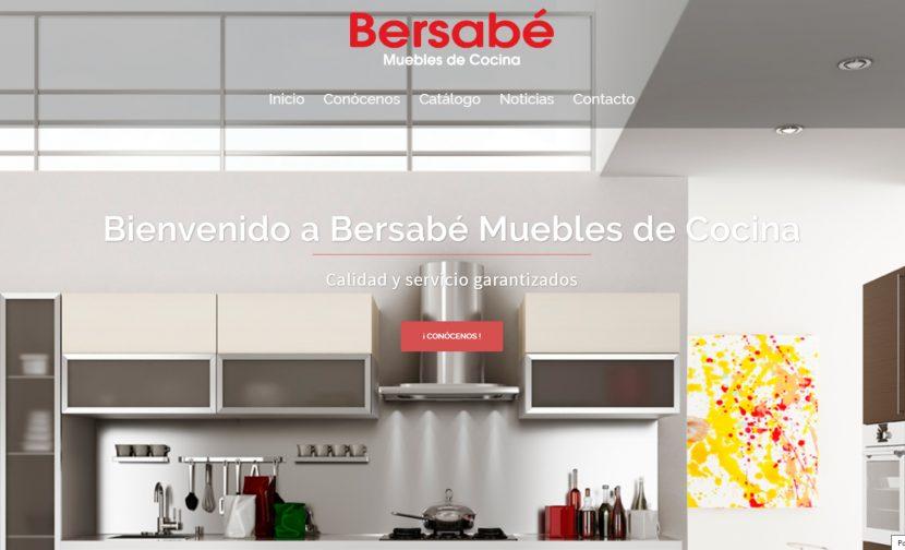 Nueva Web Bersabé Muebles de Cocina
